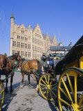 Main Town Square, Bruges, Belgium