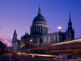 St. Paul's Cathedral in the Evening, London, England, UK