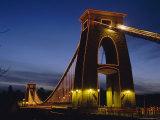 Clifton Suspension Bridge, Bristol, Avon, England, UK, Europe