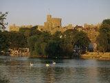 The River Thames and Windsor Castle, Windsor, Berkshire, England, UK, Europe