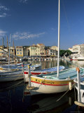 View Across the Harbour in the Evening, Cassis, Bouches-Du-Rhone, Provence, France, Mediterranean