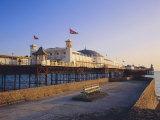 Palace Pier in Evening Light, Brighton, Sussex, England