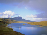 Loch Fada and the Storr, Isle of Skye, Highlands Region, Scotland, UK, Europe