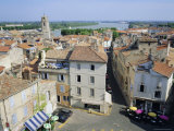 Overview of the City of Arles, Bouches-Du-Rhone, Provence, France, Europe