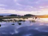 Dawn Light on Loch Ba on Desolate Rannoch Moor, Highlands, Scotland