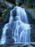 Moss Glen Falls in the Green Mountain National Forest, Vermont, New England, USA