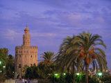 Torre Del Oro, Seville, Andalucia, Spain