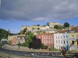 Clifton from Hotwells, Bristol, England, UK
