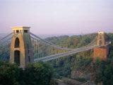 Clifton Suspension Bridge, Built by Brunel, Bristol, Avon, England, United Kingdom (U.K.), Europe