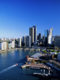 Circular Quay and City Skyline, Sydney, New South Wales, Australia
