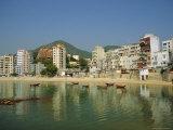 Stanley Town on the Coast, Hong Kong Island, Hong Kong, China