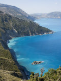 View of Coast Near Assos, Kefalonia (Cephalonia), Greece, Europe
