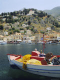 Yialos, Symi, Dodecanese Islands, Greece, Europe