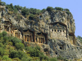 Lycian Rock Tombs, Dalyan, Turkey, Eurasia