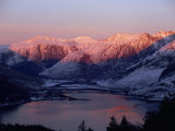 Mountains and Loch Duich Head at Dusk, Highlands, Scotland