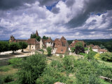 The Village Amidst the Verdant Surroundings of the Dordogne Valley, Midi-Pyrenees, France
