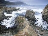 Rocks, Big Sur Coast, California, United States of America, North America