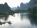 Yangshuo, Li River, Guangxi Province, China, Asia