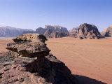 Desert Landscape, Wadi Rum, Jordan, Middle East