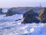 Pointe De Poulains View from Ster Vraz, Belle-Ile-En-Mer, Breton Islands, Morbihan, France