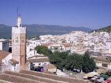 Town of Chefchaouen (Chaouen), Rif Mountain Region, Morocco, North Africa, Africa