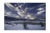 White Sands And Clouds