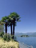 Stresa, with Isola Bella in Background, Lake Maggiore, Piemonte (Piedmont), Italy, Europe