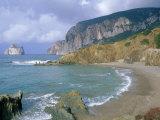 Pan Di Zucchero, Scoglio, Rocky Islet, Southwest Coast, Sardinia, Italy, Mediterranean, Europe