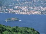 Lake Maggiore and Isola Madre, Italian Lakes, Piemonte (Piedmont), Italy, Europe