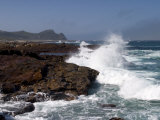 Waves at the Cape of the Good Hope, Cape of the Good Hope, Capetown, South Africa