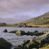 The Snowdon Range from Capel Curig, Snowdonia National Park, Gwynedd, North Wales, UK, Europe