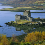 Eilean Donan Castle, Dornie, Highland Region, Scotland, UK, Europe