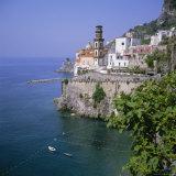 Atrani Near Amalfi, Costiera Amalfitana (Amalfi Coast), Unesco World Heritage Site, Campania, Italy