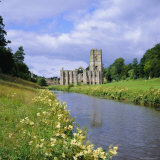 Fountains Abbey, North Yorkshire, England, UK, Europe