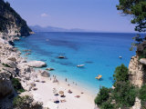 Bay and Beach, Cala Goloritze, Cala Gonone, Island of Sardinia, Italy