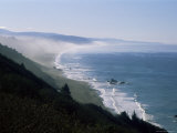View of the Pacific Ocean from Highway 101 to Brookings, North America