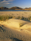 Beach, Luskentyre, North Harris Mountains, Scotland, United Kingdom