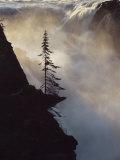 Athabasca Falls, Jasper National Park, Unesco World Heritage Site, Alberta, Canada