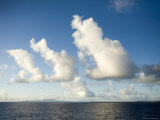 Clouds over the Pacific Ocean, French Polynesia