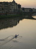 Arno River and Rowrs, Florence, Italy