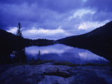 Mead Lake During Evening Light in the Bighorn Mountains, Wyoming
