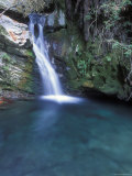 Pico Blanca Falls in Los Padres National Forest, California