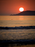 Sunset over Point Loma, California