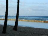 Sunrise on Waikiki Beach, Hawaii