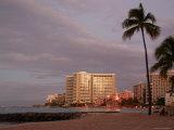 Sunrise at Waikiki Beach, Hawaii