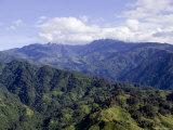 The Peaks of the Rwenzori Mountains, Uganda