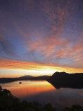 Dawn at Lake Mashu