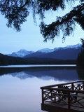 Lake Beauvert, Jasper, Jasper National Park, Alberta, Canada