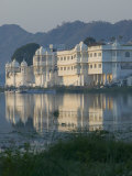 Lake Palace Hotel and Lake Pichola, Udaipur, Rajasthan, India