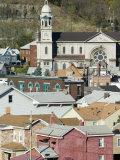 Town View from 62nd Street Bridge, Sharpsburg, Pittsburgh, Pennsylvania